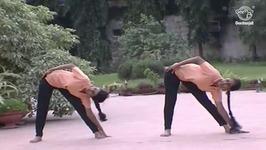 Yoga Exercise For Beginners In Tamil - Sideward Bending