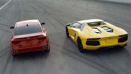 2019 Kia Forte vs Lamborghini Aventador