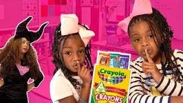 Toy Teacher Maleficent Gets Pranked at Toy School! Diy Edible School Supplies Prank