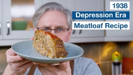 1938 Depression Era Meat Loaf Recipe