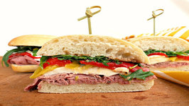 Sandwich - Roast Beef And Mozzarella Sandwich