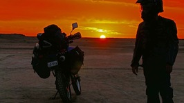 In search of the Crystal Pyramid - Pilbara Motorcycle Trip ep31