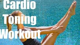 Cardio Tone Workout - No equipment 38 min