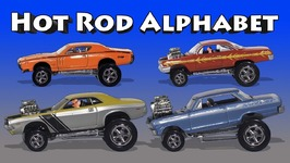 Hot Rod Alphabet - Kids Learn ABCs with Cars, Trucks and Restomods