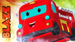 Fire Truck Song - Song About Blaze  For Kids - Ep 38