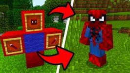 How To Spawn SPIDERMAN in Minecraft Pocket Edition! (Spiderman Addon)