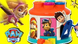 Paw Patrol SPINNING LOCK AND KEY GAME Win Surprise Toys  Learn Shapes