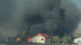 Several Homes Destroyed in Nevada Oil Well Fire