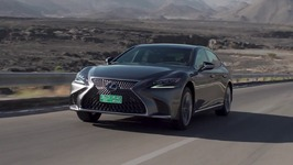 LEXUS LS 500h in Grey Driving Video