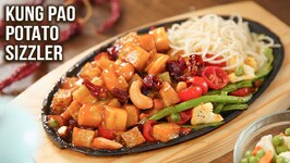 How to Make Veg Sizzler/ Kung Pao Potato Sizzler Recipe/ Sweet and Sour Paneer Sizzler/ Varun