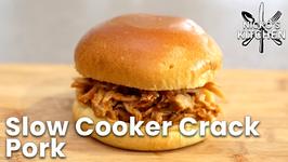 Slow Cooker Crack Pork / Pulled Pork Sliders