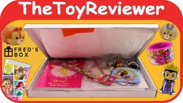 Freds Box Girls Mystery Monthly Subscription Box July 2017 Unboxing Toy Review