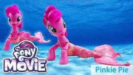My Little Pony Mermaid Pinkie Pie Sea Pony - MLP The Movie 2017 Custom Pony Tutorial
