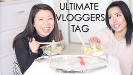 The Ultimate Vlogger Tag With Saammage - Poke Bowl Mukbang Mukbang Eating Show