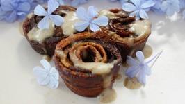 Healthy Cinnamon Rolls - Paleo, Vegan, Gluten Free, Refined Sugar Free Recipe And Fruit Leather
