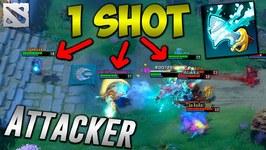 Attacker Best Kunkka 1 SHOT HERO Dota 2