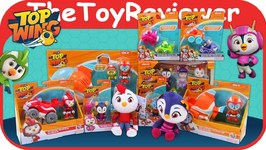 Top Wing Haul Swifts Flash Wing Rescue Plush Racers Vehicle Unboxing Toy Review
