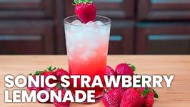 Sonic Strawberry Lemonade