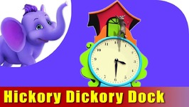 Hickory Dickory Dock, HD Quality Nursery Rhymes For Children
