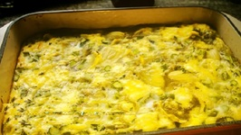 Breakfast Casserole With Asparagus And Artichokes