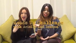 Heads Up Challenge With Arielle And London - Scrambled - Episode 8