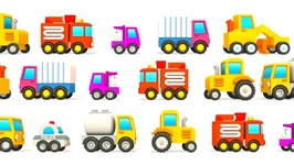Excavator Max Hide and Seek and Excavator Max Carousel. Car Cartoons. Learn English with Excavator Max