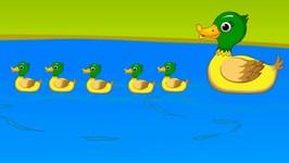Five Little Ducks Popular Nursery Rhyme