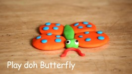 Play Doh Butterfly - Easy Version