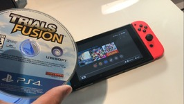 WHAT HAPPENS WHEN YOU PUT A PS4 GAME IN A NINTENDO SWITCH - CLICKBAIT