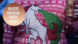 Party with the ugliest Christmas sweaters in Detroit