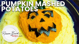 Pumpkin Mashed Potatoes - Halloween Recipe