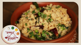 Upma - Quick And Healthy Indian Breakfast - Recipe By Archana In Marathi
