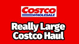 Really Large Costco Haul