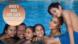 Arod's Daughters Are Total Jennifer Lopez Fangirls