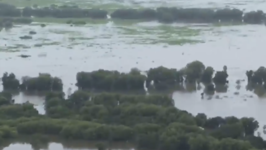 Aerial Footage Shows Extensive Flooding in Northern Territory