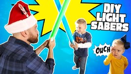 Diy Star Wars Lightsabers For Jedi Kids Do It Yourself Gear Test