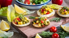 Leftover Arepa Crisps - A Great Substitute For Bread Or Crackers-Vegan And Gluten Free