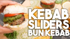 KEBAB SLIDERS - Bun Kebab - Mini BURGERS