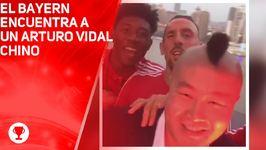 El Bayern encuentra a un Arturo Vidal chino