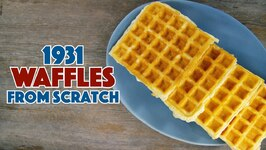 1931 KC Waffles Recipe
