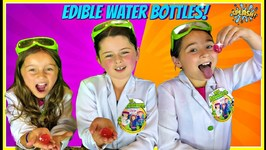 Edible Water Bottle You Can Eat - Diy