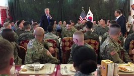 Trump Thanks Troops in South Korea, Promises Strong US Economy for Those Returning