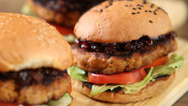 Chicken Burger With Bacon Jam - Burger - Nick Saraf's Food Log