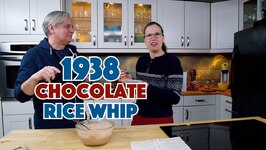 1938 Chocolate Rice Whip Recipe Depression Era Dessert