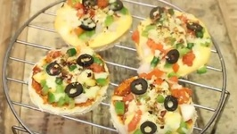 1 Minute Bread Pizza In Microwave - Super Quick Snack - Kid's Lunch Box