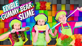 Edible Gummy Bear Slime DIY - Ft The Wild Adventure Girls