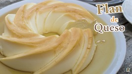 Flan de Queso Casero Sin Horno -Receta de Flan de Queso fácil sin Huevos