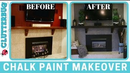 Easy Chalk Paint Makeover - Before and After