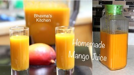 Homemade Mango Juice  No added Sugar