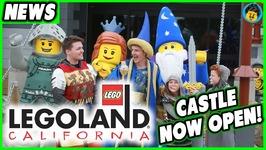 LEGOLAND Castle Hotel California is OPEN